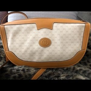 Brand New Vintage Gucci Pink Canvas Bag